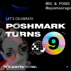 HAPPY 9th BIRTHDAY POSHMARK !!!